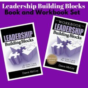 Leadership Building Blocks Book/Workbook Set
