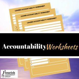 Accountability Worksheet Promo